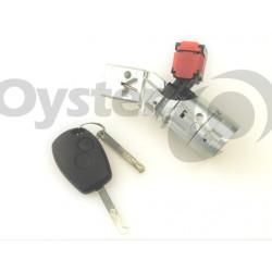 Komplettes Zündschlossset für Renault Clio MK3 - Master - Kangoo - Trafic - Fluence - Modus - Twingo - Wind - Schlüsselblatt VA2 - OEM Produkt