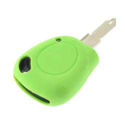 Schlüsselhülle Renault - 1 Taste - Material Weichgummimaterial - Farbe grün