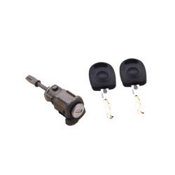 Tür Schloss mit Schlüssel für Seat Toledo - Leon LH - Schlüsselblatt HU66 - OEM Produkt