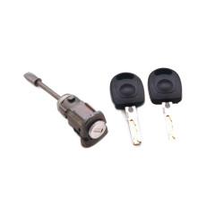 Tür Schloss mit Schlüssel für Seat Ibiza V LH - Schlüsselblatt HU66 - OEm Produkt