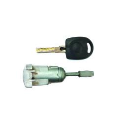 Tür Schloss mit Schlüssel für Seat Toldedo - Leon - Schlüsselblatt HU66 - OEM Produkt