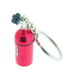 Schlüssel Anhänger Nitrous Oxide Bus - Rot