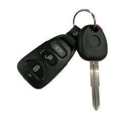 Ssangyong Schlüssel - 2 Tasten - 433 Mhz - Schlüsselblatt SSY3 - After Market Produkt