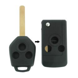 Subaru Klappschlüssel-Umbauset 3-Tasten, für Artikel 'SUB103' Schlüssel - Schlüsselblatt DAT17 - After Market Produkt