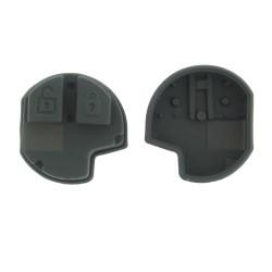 Gummi Tastenfeld für Nissan Pixo Schlüssel - 2 Tasten - Type 1 - After Market Produkt