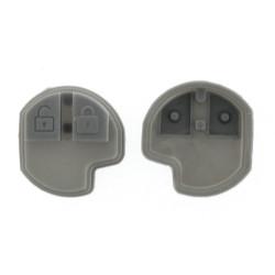Gummi Tastenfeld für Nissan Pixo Schlüssel - 2 Tasten - Type 3 - After Market Produkt