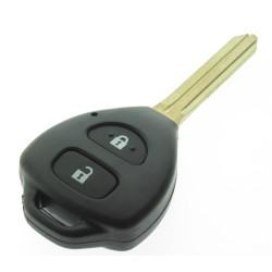 Toyota Schlüssel 2 Tasten  - 433 Mhz - ID6E 80 bit G-chip - Hilux - Schlüsselblatt TOY43 - OEM Produkt