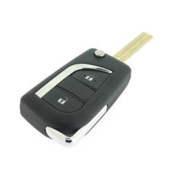 Toyota Schlüssel Gehause - 2 Tasten - Schlüsselblatt TOY48 - After Market Produkt