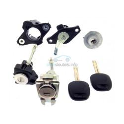 Komplettes Lockset fur Toyota Aygo - (2014 - ) für Modelle ohne Fernbedienung - OEM Produkt
