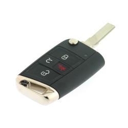 Klappschlüssel für VW - 3 Tasten + Panic Taste - 315 Mhz - Non Keyless - 5G6959752AC - OEM Produkt