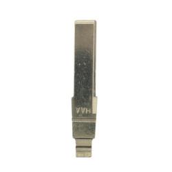 Klappschlüsselgehäuse für VW - 2 Tasten - für alte Modelle - Schlüsselblatt HU66 - After Market Produkt