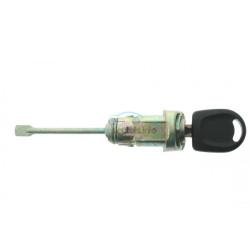 Komplettes Fahrertürschloss mit 1 gefräßte Schlüssel für u.a. die Modelle VW Bora > 2008 - Schlüsselblatt HU66 - After Market Produkt