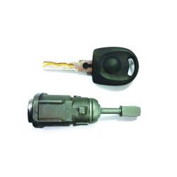 Tür Schloss mit Schlüssel für Volkswagen Golf IV - Schlüsselblatt HU66 - OEM Produkt