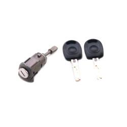 Tür Schloss mit Schlüssel für Volkswagen Golf  IV LH - Schlüsselblatt HU66 - OEM Produkt