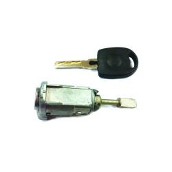 Tür Schloss mit Schlüssel für Volkswagen Golf MK4 LH - Schlüsselblatt HU66 - OEM Produkt