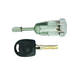 Tür Schloss mit Schlüssel für Volkswagen Passat V - Schlüsselblatt HU66 - OEM Produkt