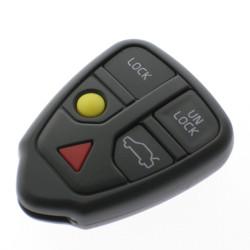 Schlüssel Gehäuse Volvo 5 Tasten S60, V70, S80, XC90, XC70 Fernbedienung exklusive Drücktasten - After Market Produkt