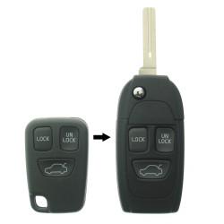 Umbauset 3 Tasten - für Artikel 'VOL101' Schlüssel - Schüsselblat NE66T2