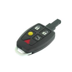 Volvo Smartkey Gehäuse 5 Tasten - loser Knöpfe - mit Notschlüssel